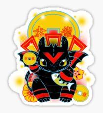 Lucky Dragon Sticker