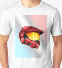 Stylised Spartan Red T-Shirt