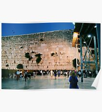 Western Wall  Poster