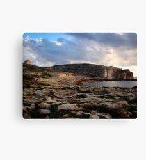 History In Stone Canvas Print