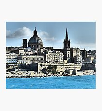 Valletta Waterfront Photographic Print