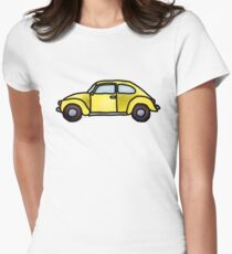 Beep beep! Women's Fitted T-Shirt