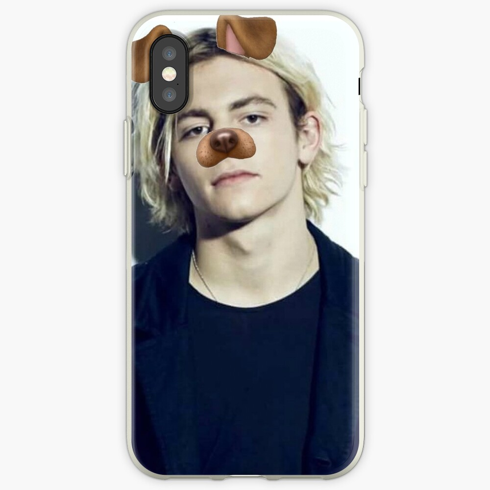 Ross Lynch - Snapchat Welpen Filter iPhone-Hülle & Cover