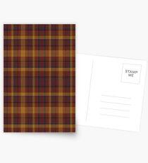 02565 Morris County, New Jersey Fashion Tartan  Postcards