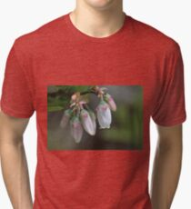 Wildflowers in the forest Tri-blend T-Shirt