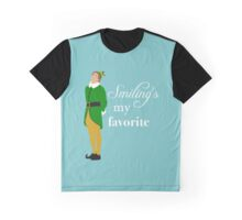 Smiling's My Favorite Graphic T-Shirt