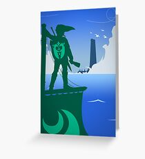 Zelda - The Wind Waker Greeting Card