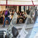 Sidewalk café by Murray Swift