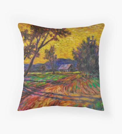Twilight Ozarks Throw Pillow