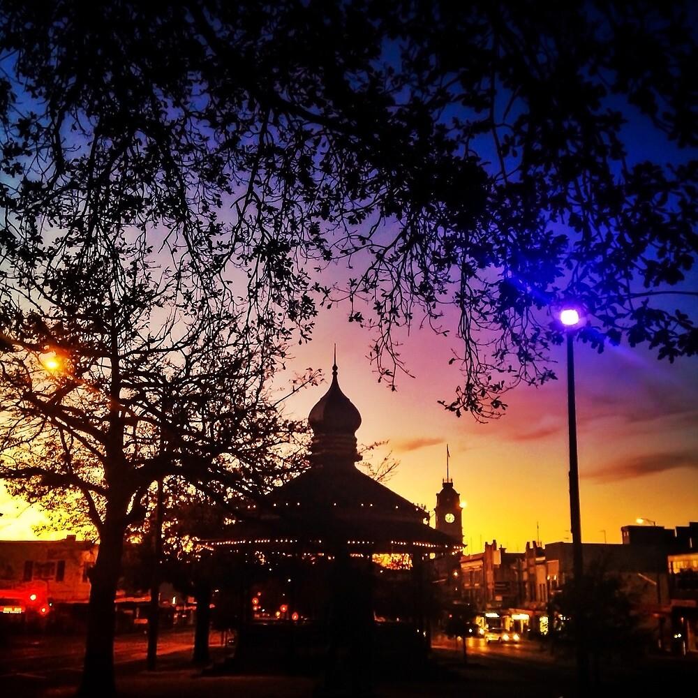 Sunrise on Sturt by Mitchell Harris