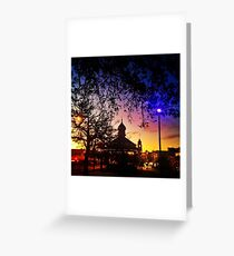 Sunrise on Sturt Greeting Card