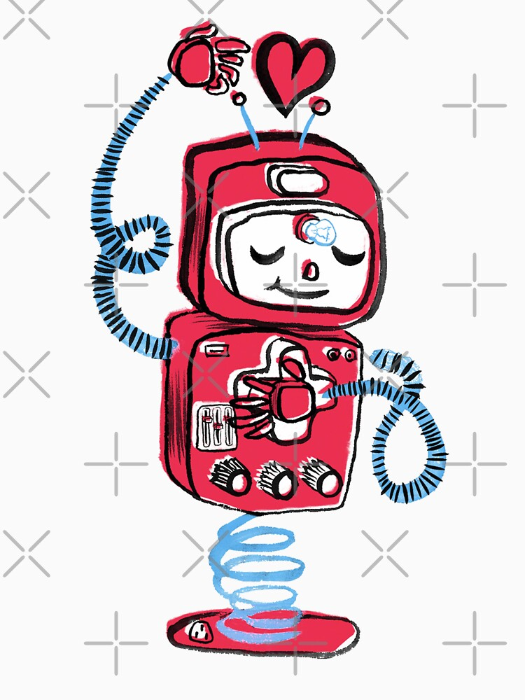 Red Robot by Foss