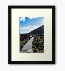 Boardwalk in Tongariro National Park (3) Framed Print
