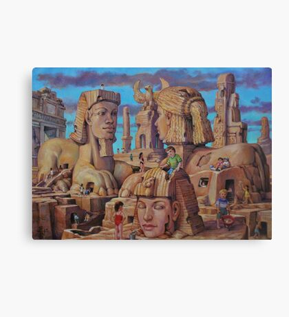 The Big Sand Box Canvas Print