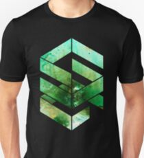 Abstract Space - version 2 - inverted T-Shirt
