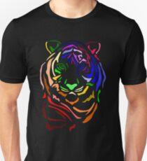 Rainbow Tiger Unisex T-Shirt