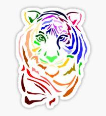 Rainbow Tiger Sticker