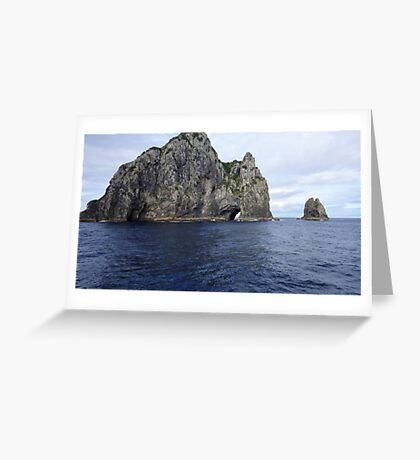 Hole in the Cliff Greeting Card