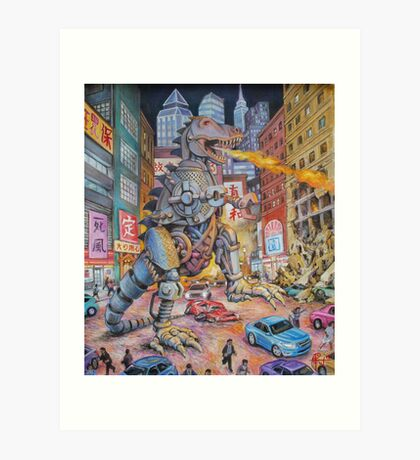 Batteries Not Included Art Print