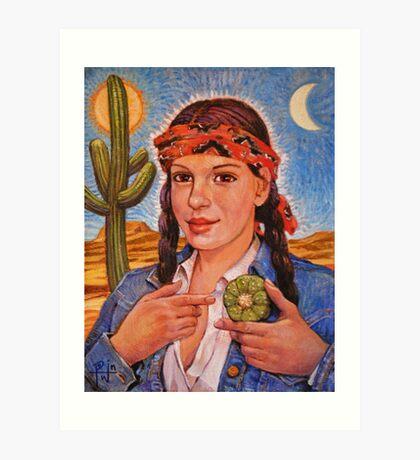 Peyote Woman Art Print