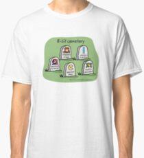 8-bit cemetery Classic T-Shirt