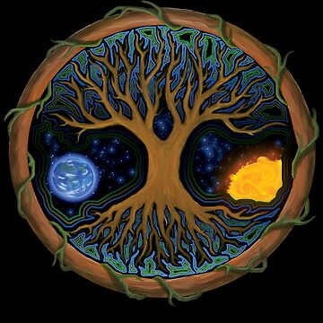 Astral Tree of Life by LeahMcNeir