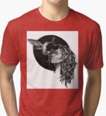 Elf And Hummingbird Tri-blend T-Shirt