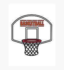 Basketball sports basket Photographic Print