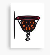 Basketball basket sports funny Canvas Print