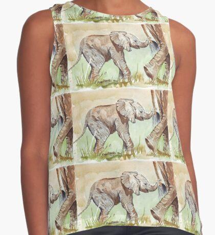 Baby Elephant walk Sleeveless Top
