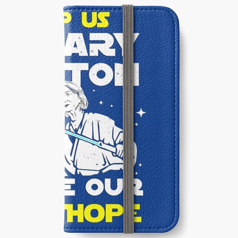 Rette uns Hillary! iPhone Flip-Case