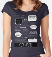 OUAT Quotes Women's Fitted Scoop T-Shirt