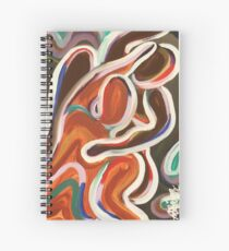 COLORFUL EVENINGS Spiral Notebook