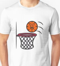 Basketball basket pleasure sports T-Shirt