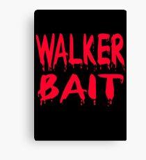 Walker Bait Canvas Print