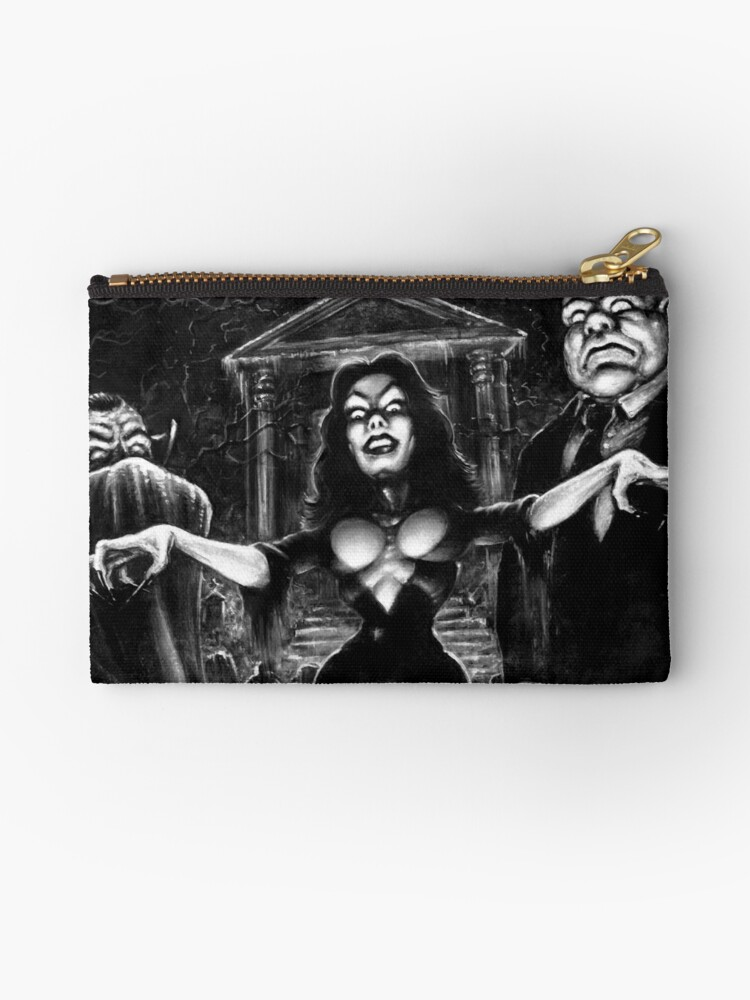 Vampira Plan 9 zombies by Scott Jackson