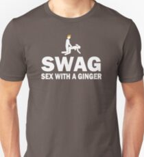 Funny SWAG Sex With A Ginger T-Shirt