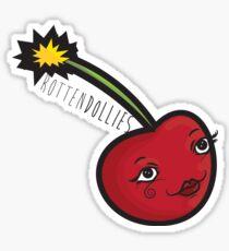Rotten Dollies - Cherry Bomb Sticker Sticker