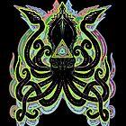 Neon Kraken by Tiduk