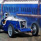 1935 Donnington Riley by Stuart Row