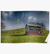 Mail Pouch Tobacco - Coshocton, Ohio USA Poster