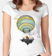 air lift Women's Fitted Scoop T-Shirt