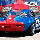 1965 Corvette Rear by Stuart Row