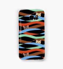 Ribbon Cats Samsung Galaxy Case/Skin