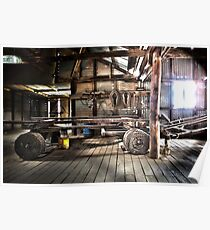 Wool Press, Old Wool shed Poster