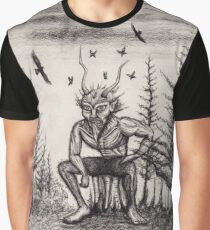 Satyr Graphic T-Shirt