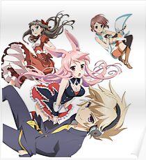 Izayaoi, Black Rabbit, Kasukabe and Asuka Poster