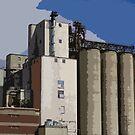 Mill, Digitally Enhanced by WildestArt