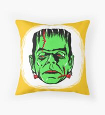 FRANKENSTEIN - Vintage 1960's Style! Throw Pillow