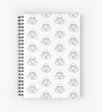 Fisherman Gonk Small - A Gonk's Journey Spiral Notebook